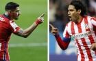 Suarez bắt kịp thành tích ghi bàn của Radamel Falcao