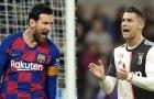 'Xét về mặt thành công, tôi sẽ dành điều đó cho Ronaldo'