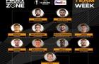 Đội hình tiêu biểu lượt đi vòng 1/16 Europa League: 3 sao Man Utd góp mặt