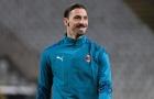 Ibrahimovic vui trở lại, Milan sẵn sàng cho đại chiến với Inter