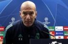 Đội hình tan nát, Zidane vẫn phát biểu 1 điều khiến CĐV Real phát sốt