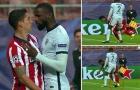 Suarez tặng 'combo tiểu xảo', Rudiger nổi đóa suýt choảng nhau trên sân
