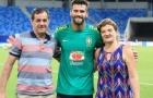 Cha của Alisson Becker chết đuối ở Brazil