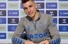 Trang chủ Everton xác nhận, cột trụ biên trái ký hợp đồng mới