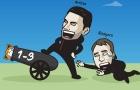 Cười té khói với loạt ảnh chế Arsenal chiến thắng Leicester