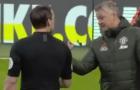 Man United bị tước 11m, Ole tranh cãi thẳng với trọng tài