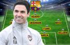 Đội hình Barcelona ra sao nếu Arteta thay thế Koeman?
