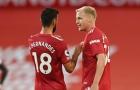 11 thống kê trước trận Palace - Man Utd: Nỗi đau De Beek, Bruno phá 'lời nguyền London'?