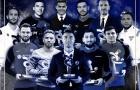 Từ Ronaldo đến Bonucci: Đội hình 11 cầu thủ xuất sắc nhất năm 2020 tại Italia