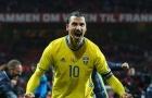 Tái xuất ĐTQG, Ibrahimovic từ chối áo số 10, chọn số áo khác