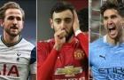 Đội hình xuất sắc nhất Premier League: Quá nửa Man City, song sát gánh team M.U góp mặt