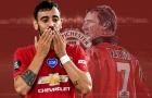 Bruno Fernandes muốn làm đồng đội với 3 huyền thoại Man United