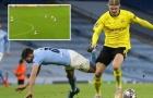 Khoảnh khắc Haaland 'thổi bay' Ruben Dias khiến Premier League rùng mình khiếp sợ