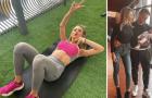 Bạn gái sao Inter khoe thân hình sexy, khiến cánh mày râu ganh tị