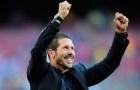 'Thiên thần' của Simeone tỏa sáng, Atletico tiến thẳng về đích