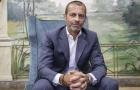 XONG! Chủ tịch UEFA gửi 'tối hậu thư' cho Real, Barcelona, Juve, Milan