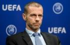 Chủ tịch UEFA đáp trả chỉ trích của Jurgen Klopp