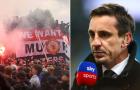CĐV Man Utd bạo loạn, Gary Neville lập tức lên tiếng