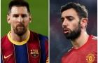 9 sao có đóng góp lớn nhất châu Âu mùa này: Bruno vẫn kém Messi