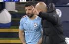 CHOÁNG! Aguero gặp 'tai nạn' khó đỡ trận Man City 2-0 PSG
