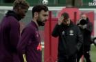 Manchester United chuẩn bị trước thềm đối đầu AS Roma