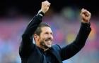 'Đinh ba tấn công' của Simeone rực sáng, Atletico tiến thẳng đến ngôi vương
