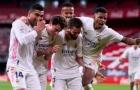 Trung vệ ghi bàn, Real nhọc nhằn bám đuổi Atletico