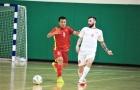ĐT futsal Việt Nam bất phân thắng bại với Lebanon