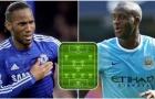 Đội hình 11 sao châu Phi hay nhất kỷ nguyên Premier League