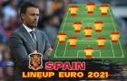 Đội hình mạnh nhất của Tây Ban Nha ở EURO 2020