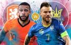 Hà Lan vs Ukraine: Định đoạt ngôi đầu?