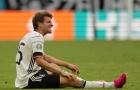 ĐT Đức nguy cơ mất Muller ở lượt trận cuối cùng