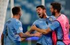 Suarez góp công, Uruguay bất phân thắng bại với Chile