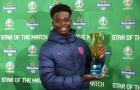 Bukayo Saka không chỉ đem đến chiều rộng cho tuyển Anh