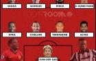 Đội hình đồng đội xuất sắc nhất của Evra: Không có Vua phá lưới M.U