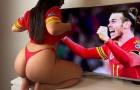 CĐV nóng bỏng nhất xứ Wales tuyệt vọng vì Bale và đồng đội