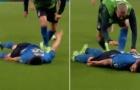 Chết cười với màn ăn mừng có một không hai của sao tuyển Ý