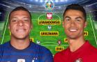 Đội hình 11 sao đình đám không xuất hiện ở tứ kết EURO 2020
