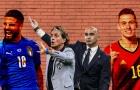 Đội hình kết hợp Bỉ - Italia: Hàng tiền vệ khủng