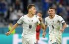 Italia đã tạo ra một bất ngờ lớn trước Bỉ