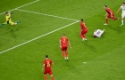 Nằm lăn lộn đau đớn, Ciro Immobile bỗng bật dậy khi Ý ghi bàn