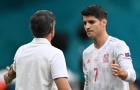 Enrique lý giải việc cất Morata trên băng ghế dự bị
