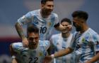 Messi đổ máu, Argentina hẹn Brazil ở CK Copa America