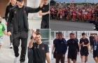 Đan Mạch được chào đón như người hùng sau trận thua tuyển Anh