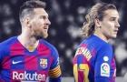 Griezmann trong vai kẻ khốn khổ vì Lionel Messi