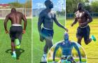 Tập luyện, Lukaku không quên khoe body lực lưỡng