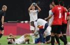 Sao Real chấn thương nghiêm trọng ở trận ra quân Olympic