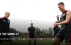 Sân tập Man Utd đón 2 cái tên trở lại sau kỳ nghỉ hè