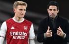 Arsenal chưa từ bỏ số 10 mà Mikel Arteta khao khát