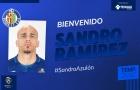 Cựu sao Barca chính thức gia nhập đội bóng thành Madrid